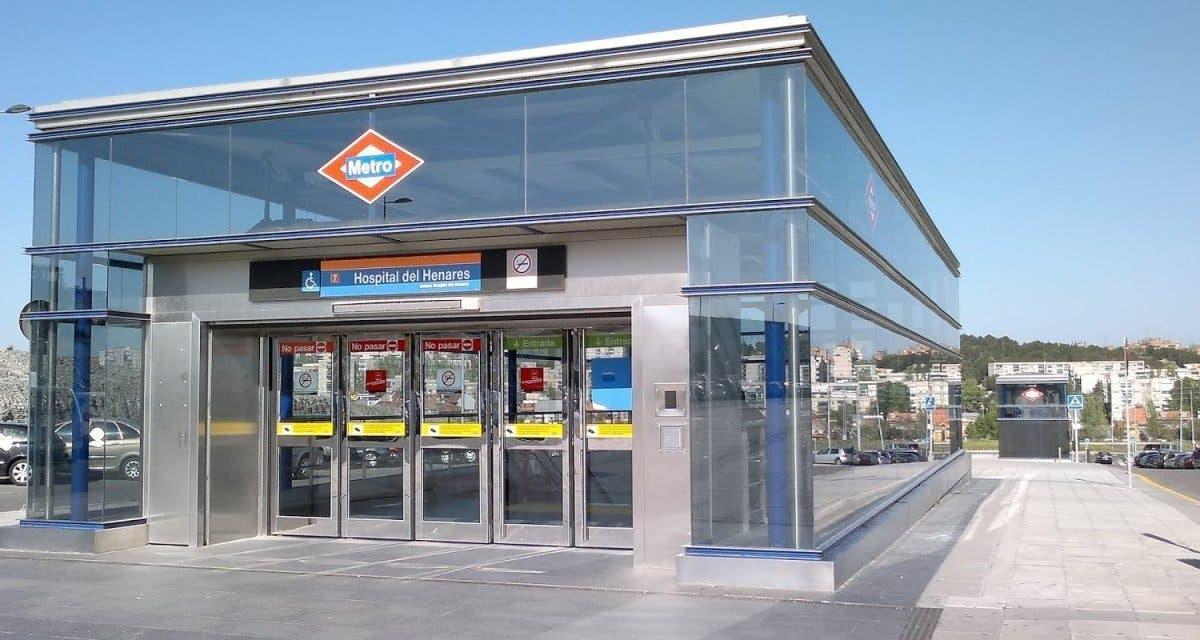 Metro reabrirá el viernes la estación de Hospital del Henares en Coslada