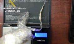 Detenido un hombre en Guadalajara que llevaba encima 37 gramos de cocaína
