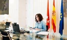 Ayuso subraya el «trabajo histórico» del rey Juan Carlos, «a quien debemos los mejores años de nuestra democracia»