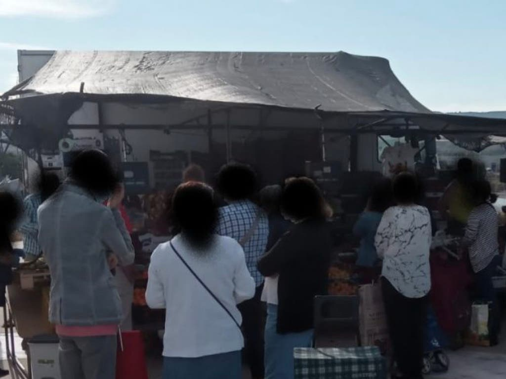 Critican la falta de medidas de seguridad en el mercadillo de Azuqueca de Henares