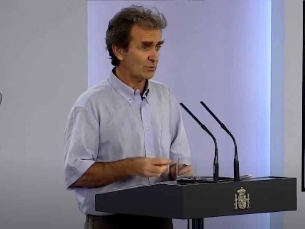 Fernando Simón valora los resultados del estudio serológico de Torrejón de Ardoz