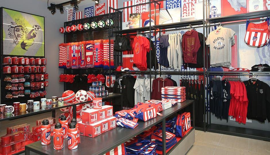 Roban en la tienda del Atlético de Madrid en Alcalá de Henares