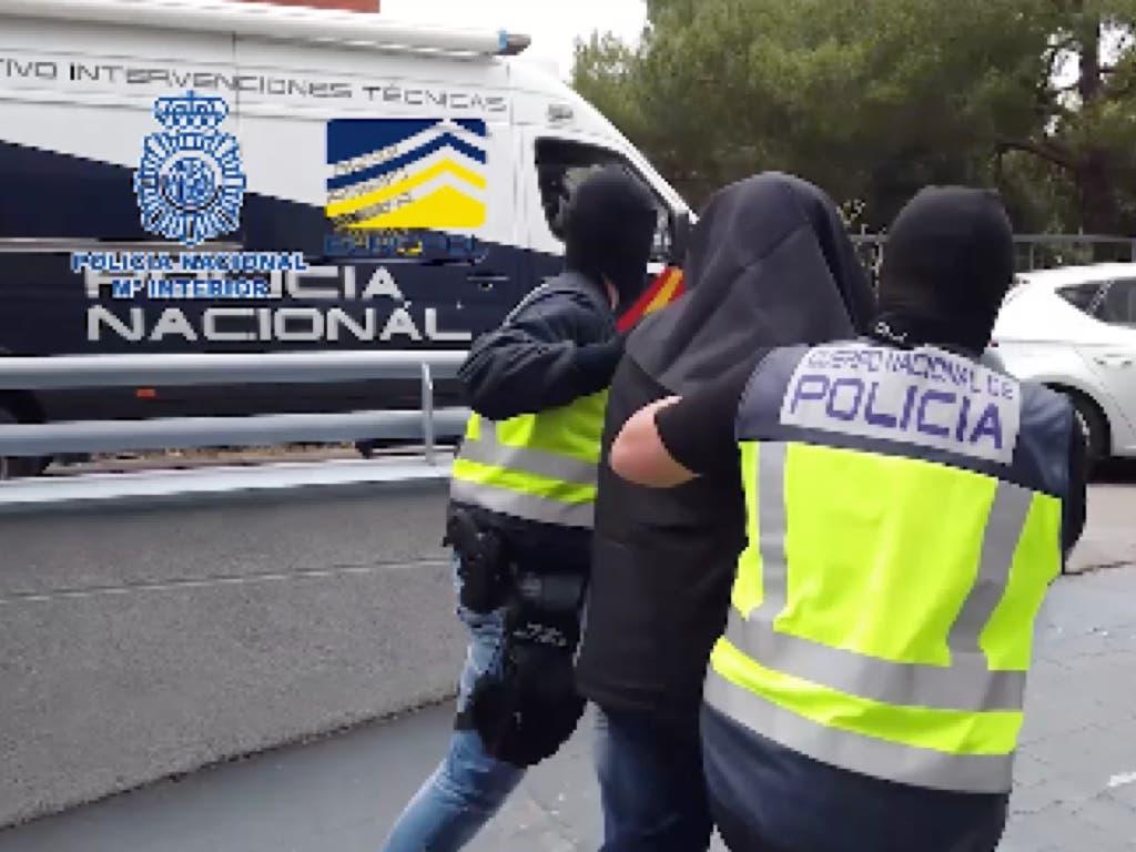 Detenido en Madrid un presunto yihadista miembro del aparato financiero de Dáesh