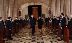 Ni Sánchez ni Iglesias acudieron al funeral por las víctimas del coronavirus