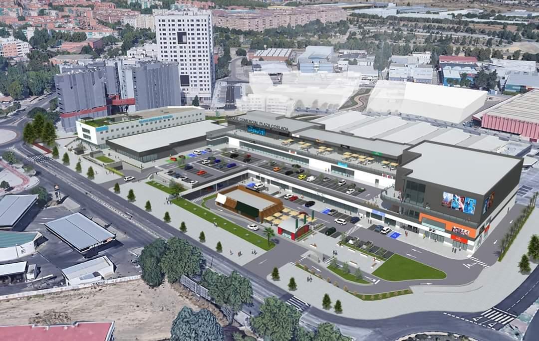 El nuevo espacio comercial y de ocio de Coslada abrirá sus puertas en 2021