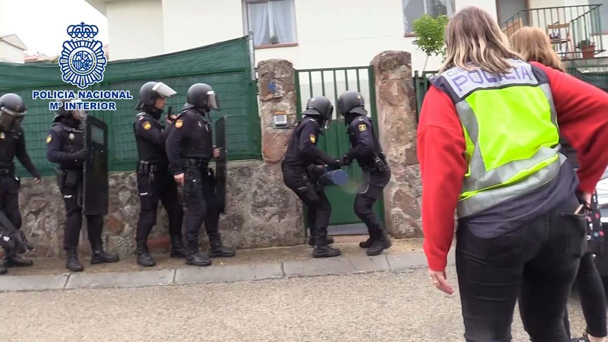 Desarticulado el mayor entramado de heroína y marihuana en Madrid con 46 detenidos