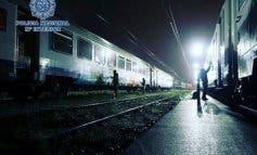 Detenidos 12 grafiteros en Guadalajara por causar daños en vagones de tren por valor de 150.000 euros
