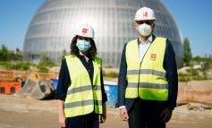 Ayuso visita las obras del Hospital de Emergencias: «Madrid, nuevamente, se adelanta»