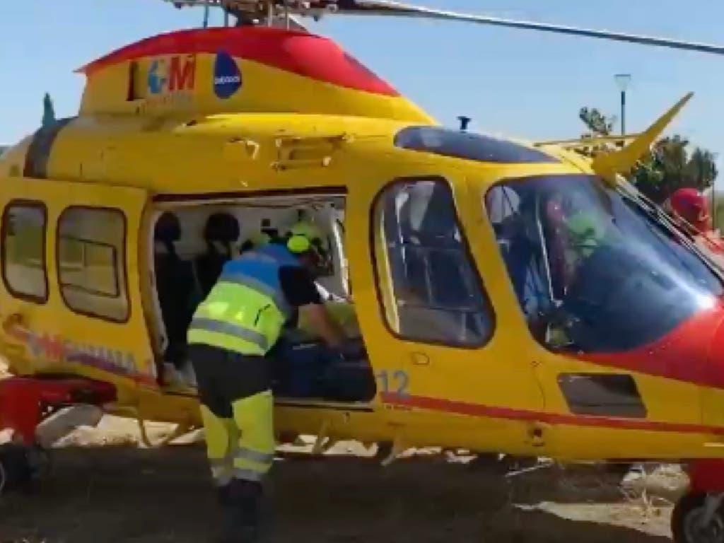 Grave un trabajador tras precipitarse desde el tejado de un chalet en Pozuelo de Alarcón