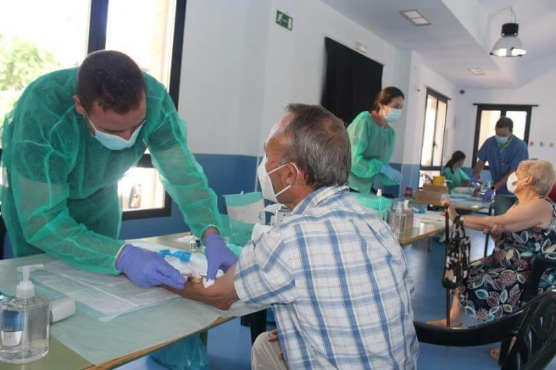 Villar del Olmo realiza test de coronavirus a sus vecinos