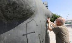 Coslada pide colaboración ciudadana tras el acto vandálico sufrido por su escultura más importante