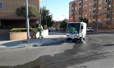 Coslada retoma las limpiezas intensivas en los barrios