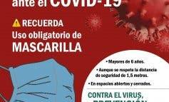 San Fernando de Henares inicia una campaña de concienciación tras el botellón sin mascarillas