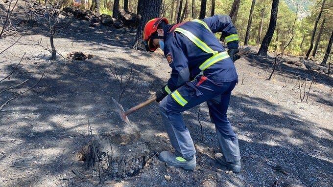 Extinguido el incendio de Robledo de Chavela tras quemar más de 1.000 hectáreas