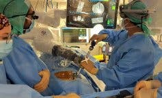 Realizada en Madrid la primera cirugía robótica de columna en un hospital público español