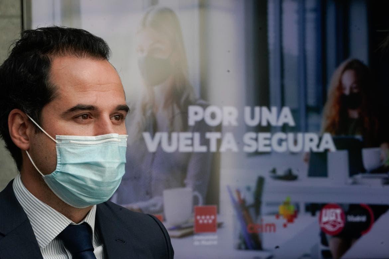 Las medidas que deberán adoptar las empresas madrileñas en la vuelta al trabajo