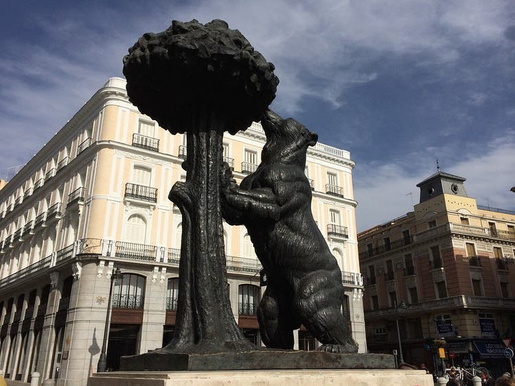 La Puerta del Sol de Madrid pasa a ser completamente peatonal desde este jueves