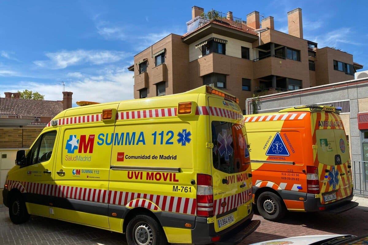 Muere un trabajador al caer desde una azotea de 12 metros de altura en Boadilla