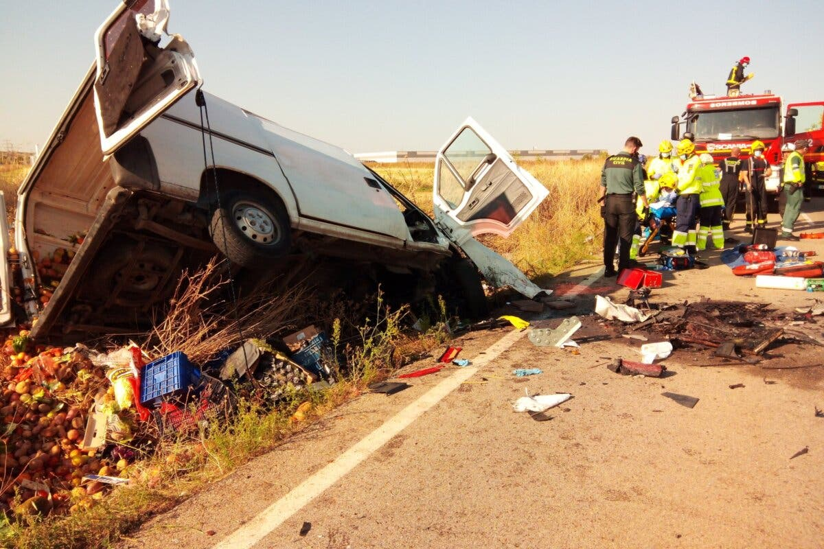 Un muerto y un herido grave en un accidente entre Cabanillas y Alovera