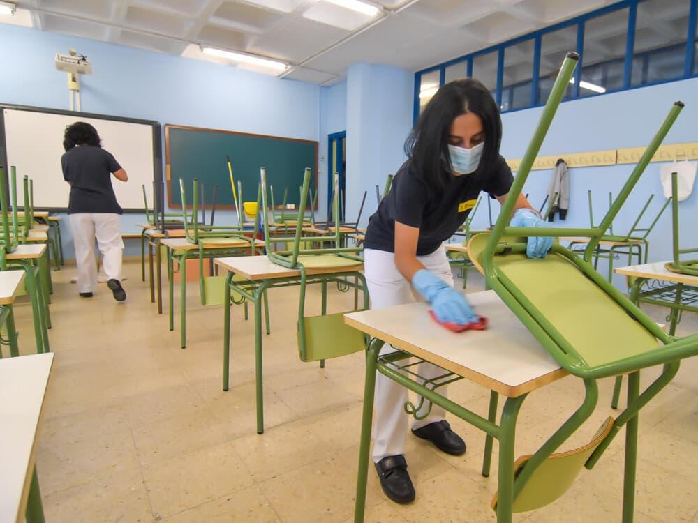 El estudio serológico en colegios de la Comunidad de Madrid concluye que son lugares seguros