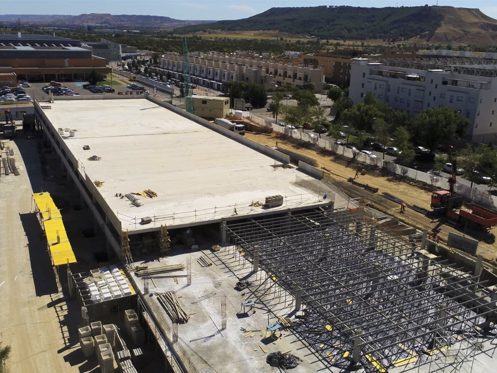 Nuevo parking gratuito en Torrejón de Ardoz:574 plazas junto al hospital