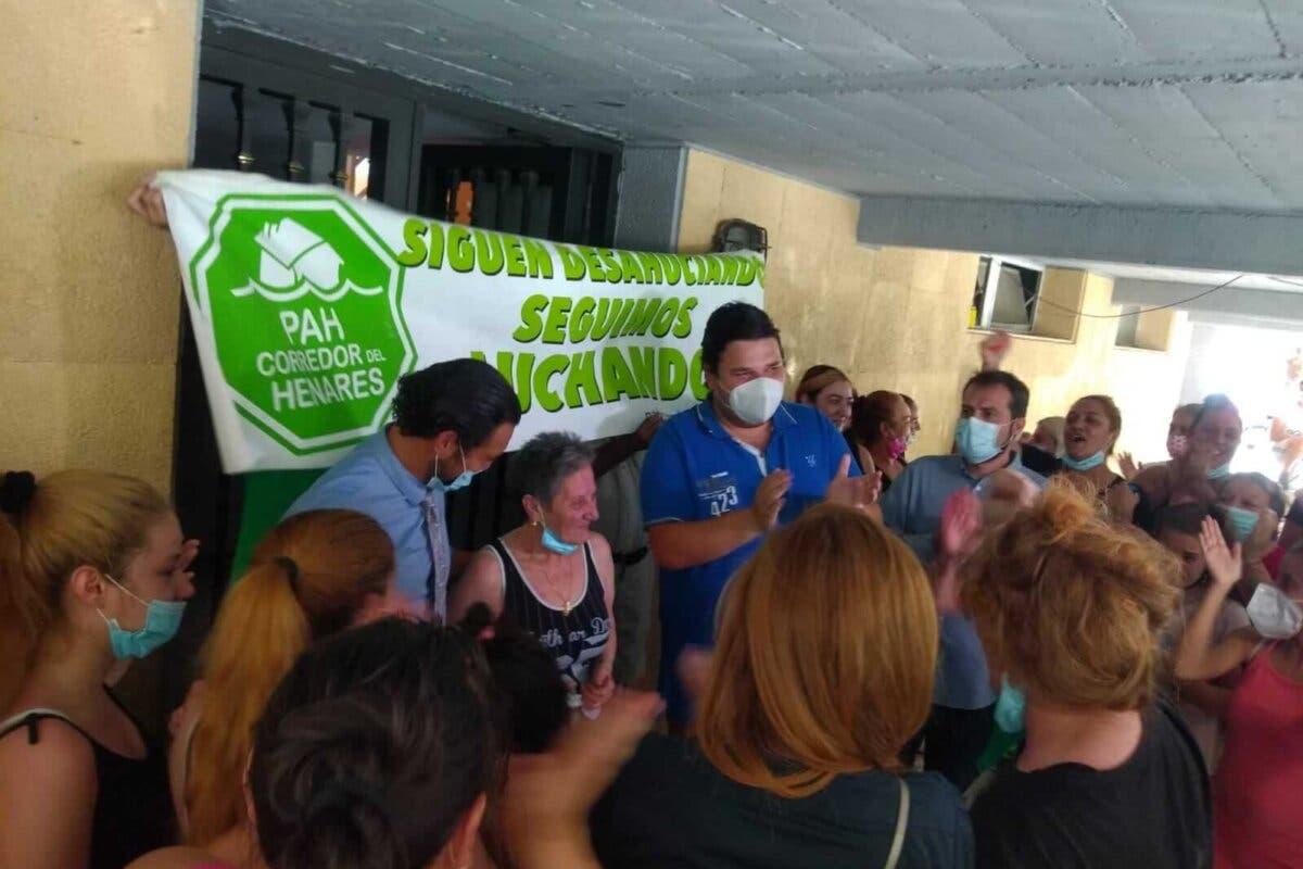 Tercer intento de desahucio de una mujer de 70 años en Alcalá de Henares