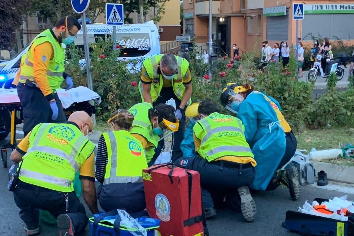 Herido muy grave un niño de 11 años tras ser atropellado en Hortaleza