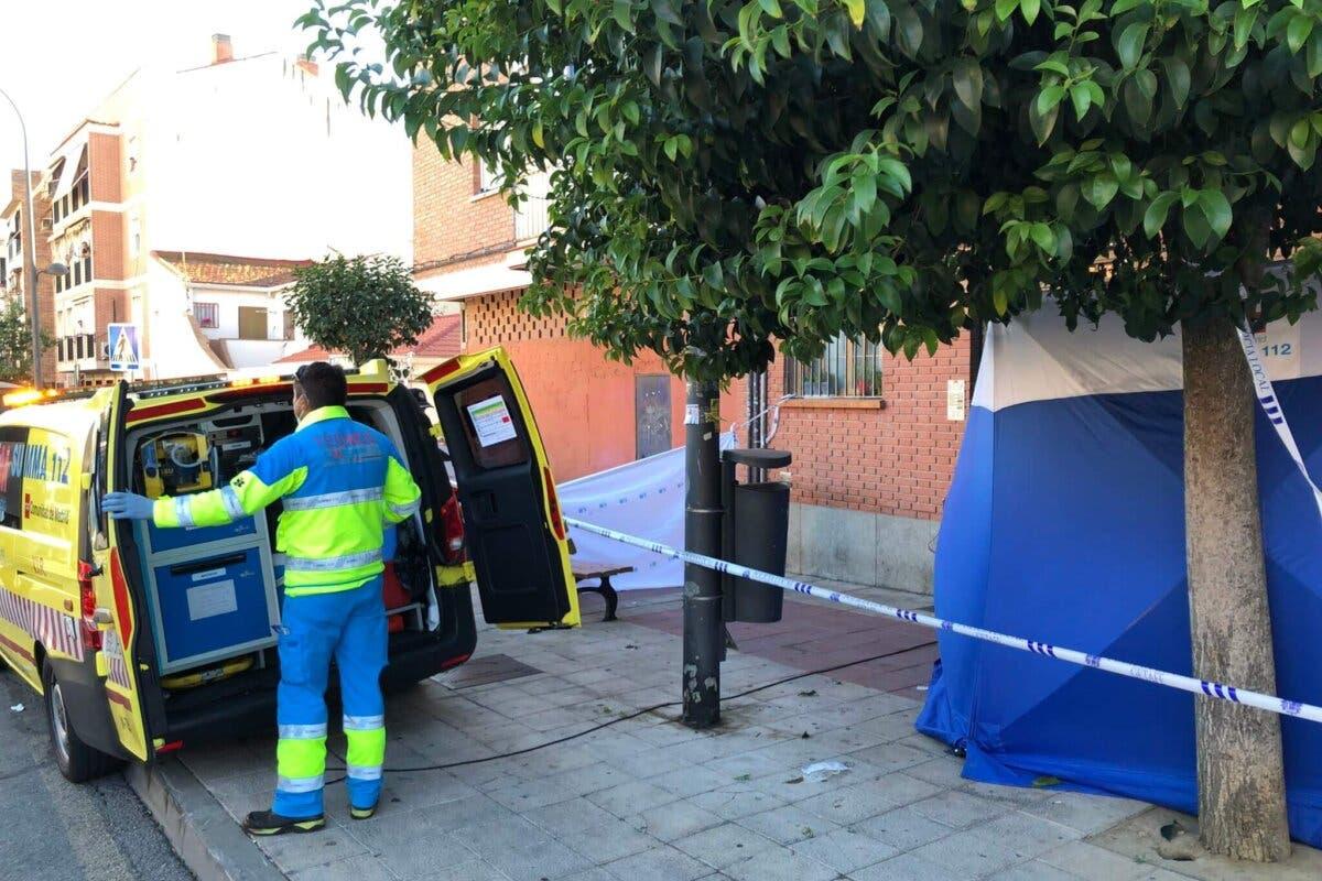 La Policía investiga el apuñalamiento mortal de un joven en Getafe