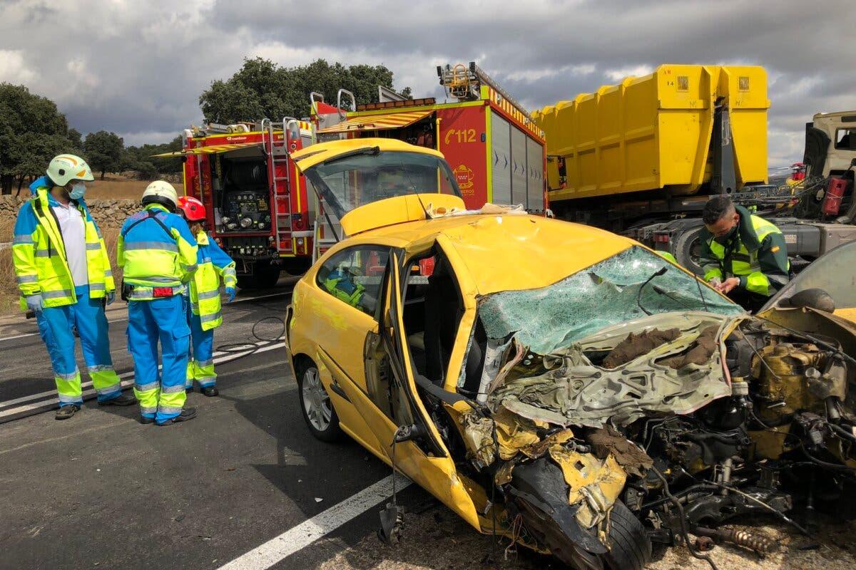 Tres heridos graves en tres accidentes de tráfico en la Comunidad de Madrid