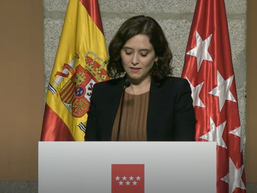 Ayuso presenta las nuevas medidas frente al Covid-19 en Madrid
