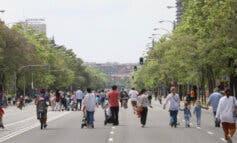 Madrid recupera la peatonalización provisional  en 12 calles desde este sábado