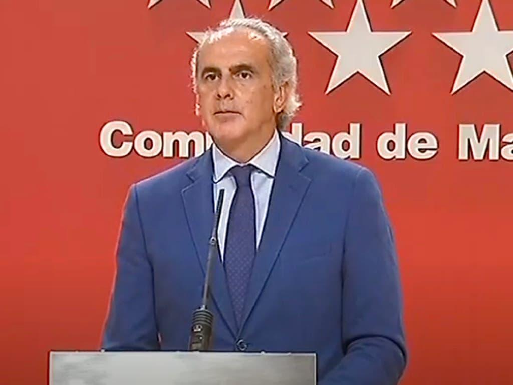 Madrid no cumplirá la orden de cierre del Gobierno: «Jurídicamente no es válida»