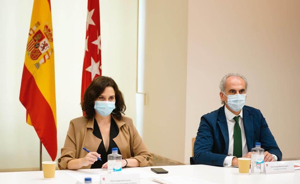 Admitido a trámite el recurso de Ayuso contra las medidas de Sánchez