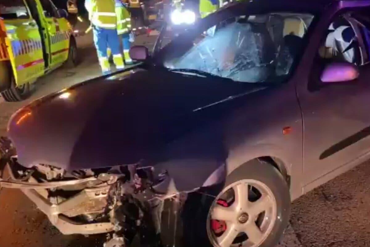 Un muerto y seis heridos, dos graves, en dos accidentes en Madrid y Getafe