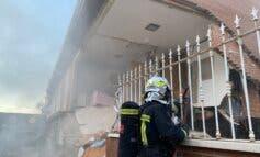 Dos detenidos por la explosión en un chalet de San Martín de la Vega