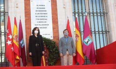 Madrid rinde homenaje a las víctimas del coronavirus que murieron en soledad
