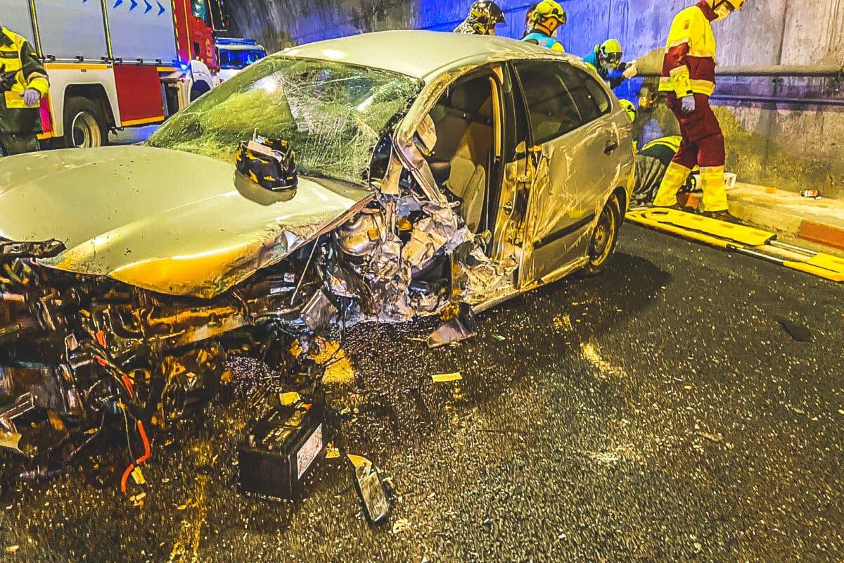 Cinco heridos en tres accidentes de tráfico en la Comunidad de Madrid