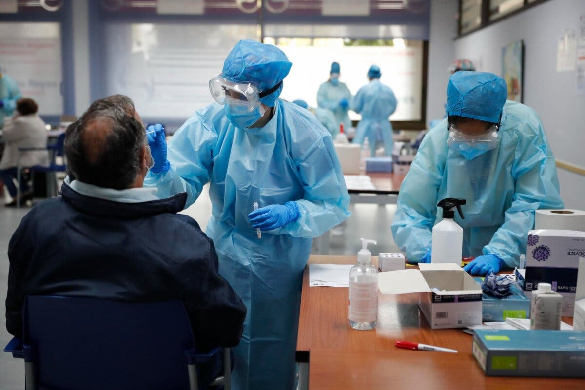 Los test de antígenos de Ayuso llegan a Algete