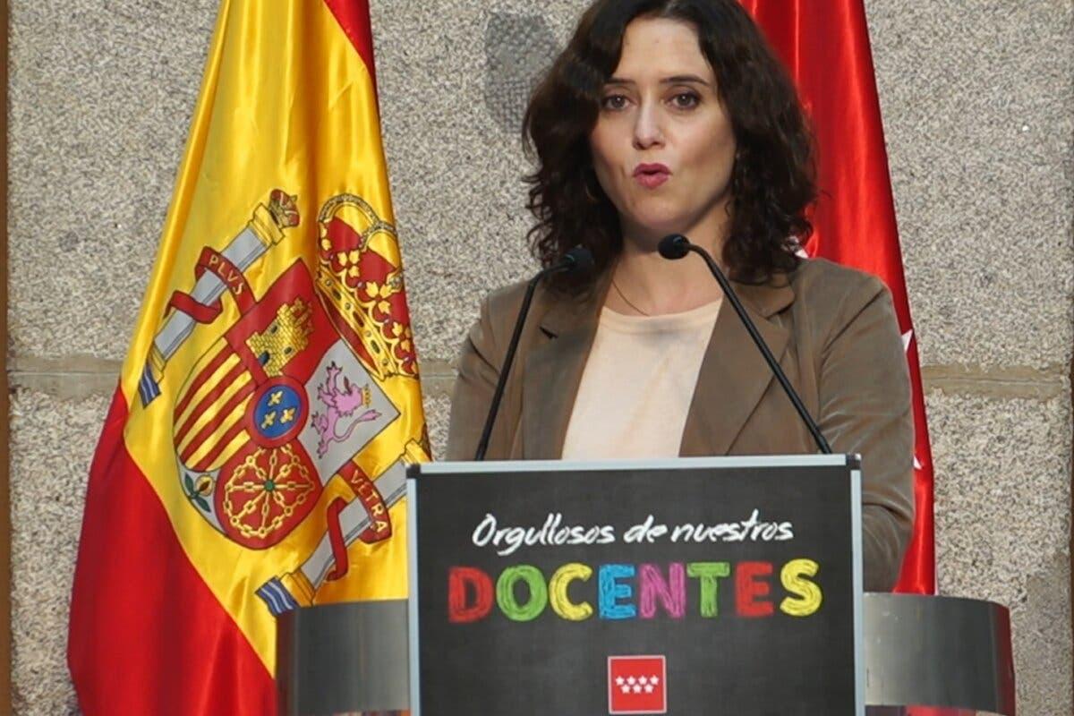 Ayuso ordena el cierre de la Comunidad de Madrid sólo durante los dos puentes