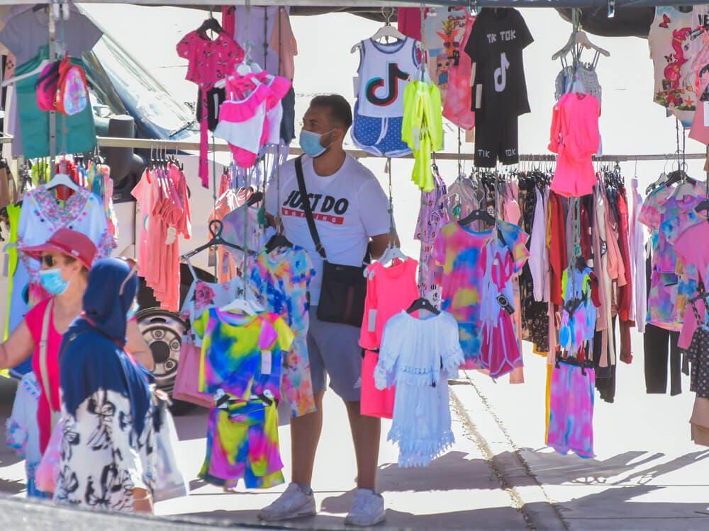 Este domingo vuelve el mercadillo de Soto del Henares en Torrejón de Ardoz