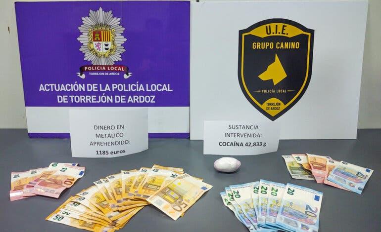 Dos detenidos por tráfico de drogas en Torrejón de Ardoz