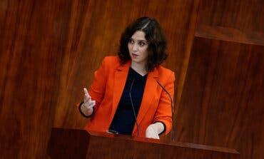Ayuso critica la subida de impuestos de Sánchez e Iglesias, «ingenieros de la pobreza»