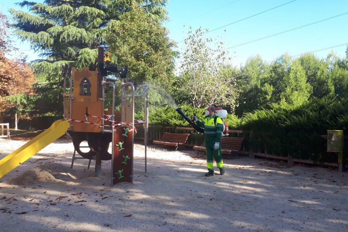 San Fernando de Henares abre los parques infantiles a partir del viernes