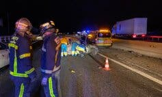 Un muerto y cinco heridos en un accidente múltiple en la A-5