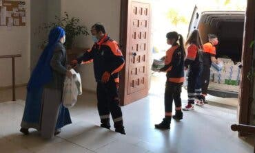 Paracuellos dona dos toneladas de alimentos para las familias más necesitadas de la localidad