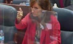 Una diputada de Más Madrid «dispara» a un consejero de Ayuso en la Asamblea