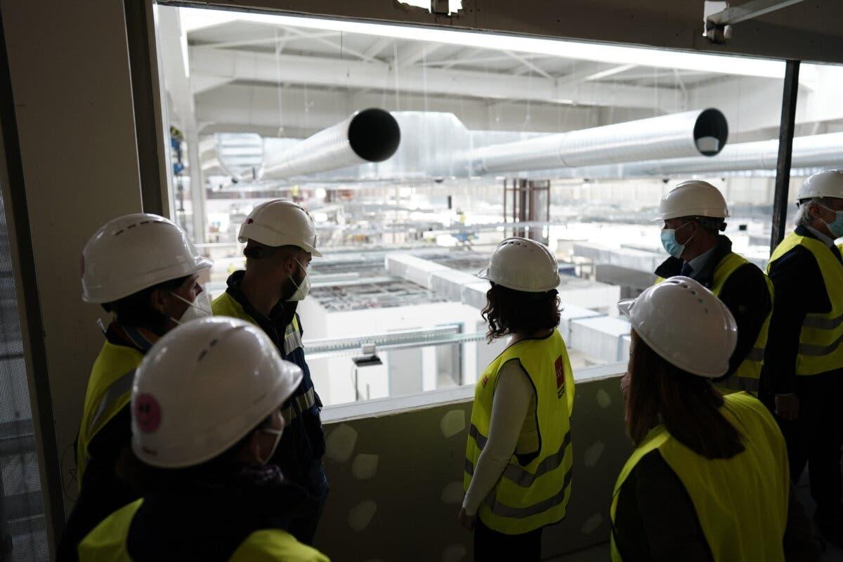 El nuevo Hospital de Emergencias de Madrid ya alcanza el 90% de su construcción