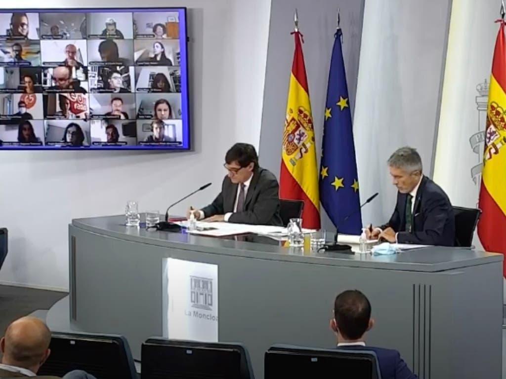 El Gobierno impone unilateralmente el estado de alarma en Madrid con 9 municipios afectados