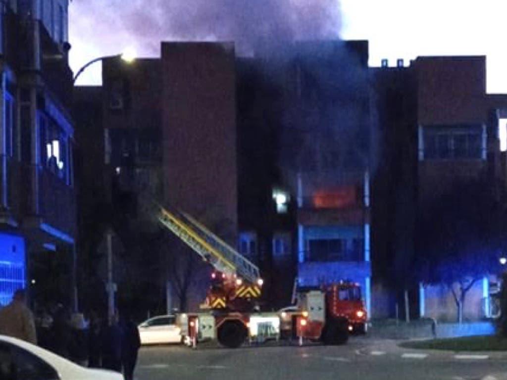 Un okupa incendia un piso en Torrejón de Ardoz antes de ser desalojado