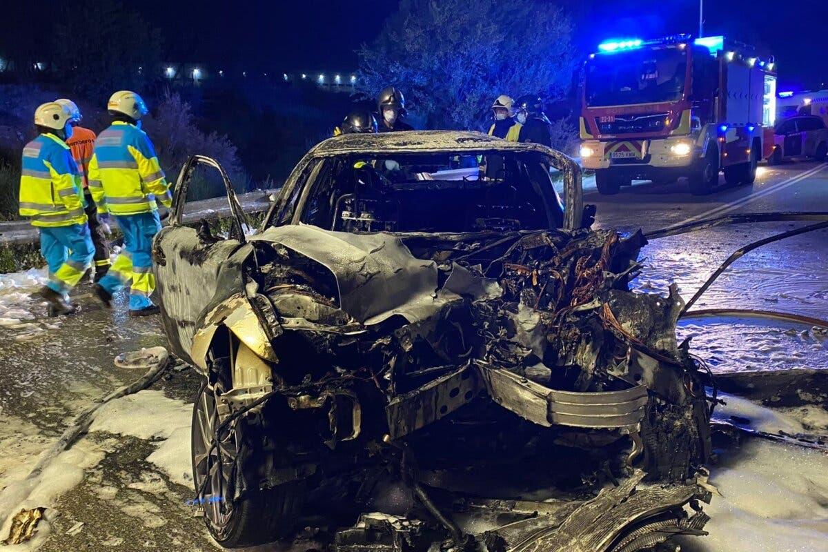 Dos muertos, entre ellos una joven de 14 años, en un accidente en Daganzo
